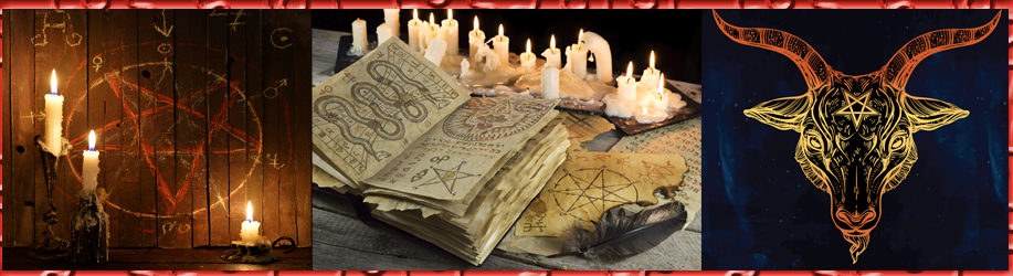satanism book of the dead black